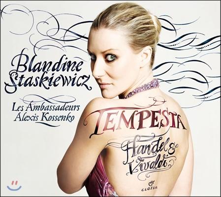 Blandine Staskiewicz 템페스트 - 헨델 / 비발디 / 포르포라: 오페라 아리아 (Tempest - Handel / Vivaldi / Porpora: Arias)