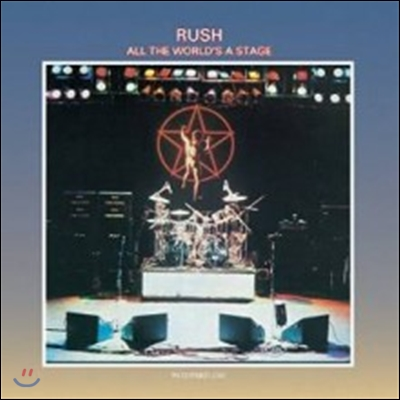 Rush - All The World's A Stage (Back To Black Series)