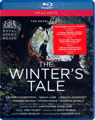 The Royal Ballet 셰익스피어의 희곡 - 발레 `겨울이야기` (Talbot: The Winter's Tale) 블루레이