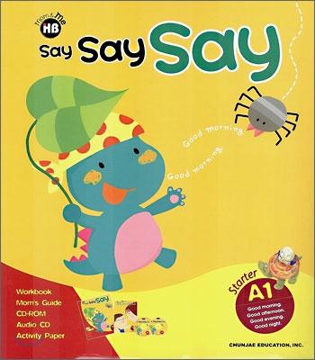 학습지 해법영어 Say Say Say A-1 (만4~6세)