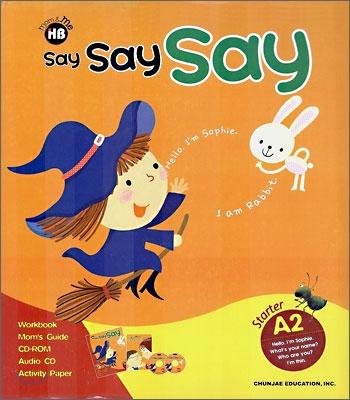 학습지 해법영어 Say Say Say A-2 (만4~6세)