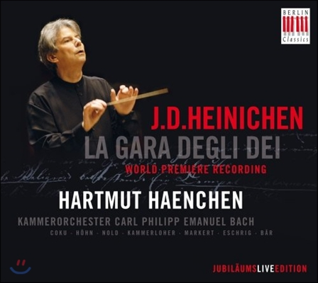 Hartmut Haenchen 하이니헨: 세레나데 '신들의 경연' (Heinichen: Serenade 'La Gara Degli Dei')