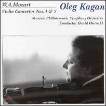 Oleg Kagan 모차르트: 바이올린 협주곡 3번, 5번 (Mozart: Violin Concertos Nos.3, 5)