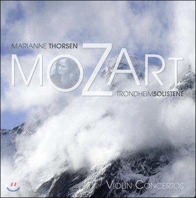 Marianne Thorsen 모차르트: 바이올린 협주곡 3번, 4번 (Mozart: Violin Concertos KV218, 216) [LP]