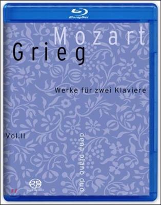Dena Piano Duo 모차르트 / 그리그: 두 대의 피아노를 위한 작품집 (Mozart / Grieg: Works for Two Pianos)