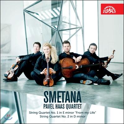 Pavel Haas Quartet 스메타나: 현악 사중주 1번, 2번- 파벨 하스 콰르텟  (Smetana: String Quartets)