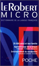 Le Robert Micro Poche : Dictionaire De La Langue Francaise