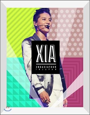 XIA (준수) 2nd 아시아 투어 콘서트 DVD : Incredible [한정판]