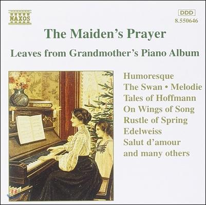 소녀의 기도 - 할머니의 피아노 소품집 (The Maiden's Prayer - Leaves From Grandmother's Piano Album)