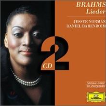 Jessye Norman / Daniel Barenboim 브람스: 가곡집 - 사랑의 진실, 집시의 노래 (Brahms: Lieder - Zigeunerlieder, Liebestreu, Sapphische Ode) 제시 노먼, 다니엘 바렌보임