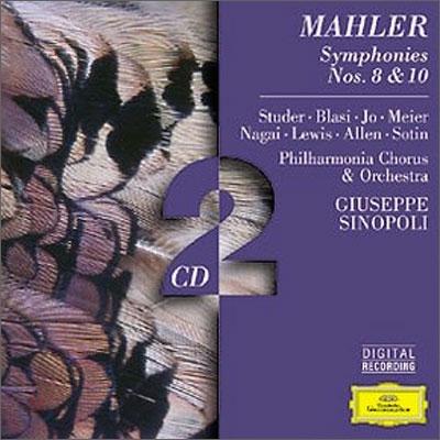 Mahler : Symphonies Nos.8 & 10 : Sinopoli