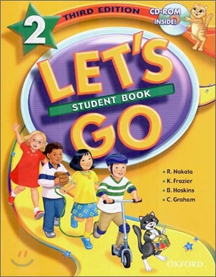 [3판]Let's Go 2 : Student Book with CD-Rom