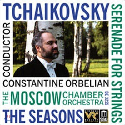 Constantine Orbelian / Tchaikovsky : The Seasons Op.37b, Serenade For Strings Op.48 (수입/미개봉/de3255)