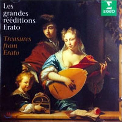 V.A. / Les Grandes Reeditions Erato - Treasures From Erato (수입/미개봉/0630114722))