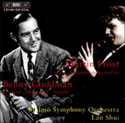 Lan Shui, Aaron Copland, Malcolm Arnold / Beenny Goodman : Copland, Hindemith, Arnold (수입/미개봉/biscd893)