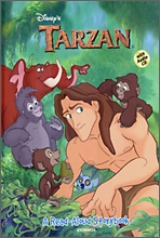 Disney's A Read-Aloud Storybook : TARZAN (Book+CD)