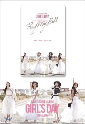 걸스데이 (Girl's Day) 2집 - Love [스마트 뮤직 카드 / 단체 ver.]