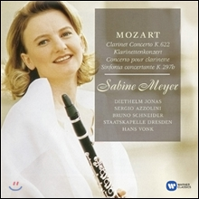Sabine Meyer / Hans Vonk 모차르트: 클라리넷 협주곡 (Mozart: Clarinet Concerto in A Major K622, Sinfonia concertante in E flat Major K297b)
