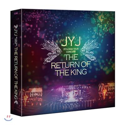 JYJ (제이와이제이) 2014 Asia Tour Concert DVD : The Return Of The King [한정판]