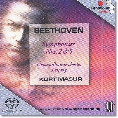 베토벤 : 교향곡 2,5번 - 쿠르트 마주어 (SACD)