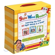Scholastic Sight Word Readers Box Pack