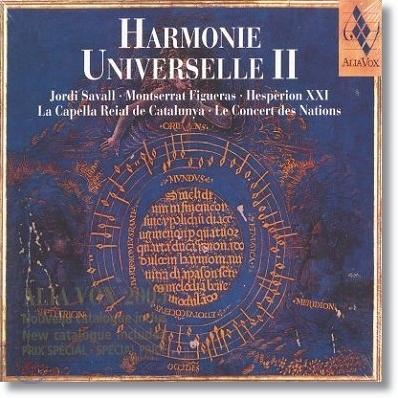 Jordi Savall 알리아 복스 베스트 샘플러 2집 (Harmonie Universelle Vol.2)