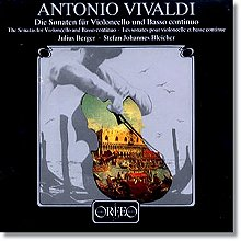 Julius Berger 비발디: 첼로 소나타 (Vivaldi: Cello Sonatas Nos. 1-9, RV39-47) 율리우스 베르거