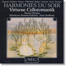 Werner Thomas-Mifune 저녁의 선율 : 로맨틱 첼로 소품 (Harmonies Du Soir : Virtuose Celloromantik) 베르너 토마스 미푸네