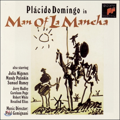 Placido Domingo in Man of La Mancha (Studio Cast Recording) 뮤지컬 맨 오브 라만차 OST (플라시도 도밍고 버전)