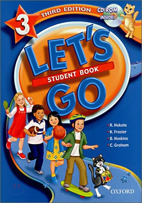 [3판]Let's Go 3 : Student Book with CD-Rom