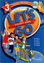 [3��]Let's Go 3 : Student Book with CD-Rom
