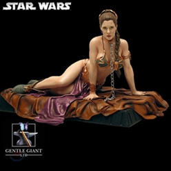��Ÿ���� : Princess Leia as Jabba Slave Statue