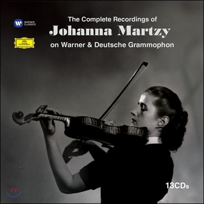 Johanna Martzy ìíë ë§ë¥´ì¹ì EMI,DG ë¹ì ìì§ (The Complete Recordings of Johanna Martzy on EMI & Deutsche Grammophon)
