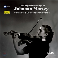 Johanna Martzy 요한나 마르치의 EMI,DG 녹음 전집 (The Complete Recordings of Johanna Martzy on EMI & Deutsche Grammophon)