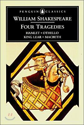 Four Tragedies : Hamlet, Othello, King Lear, MacBeth