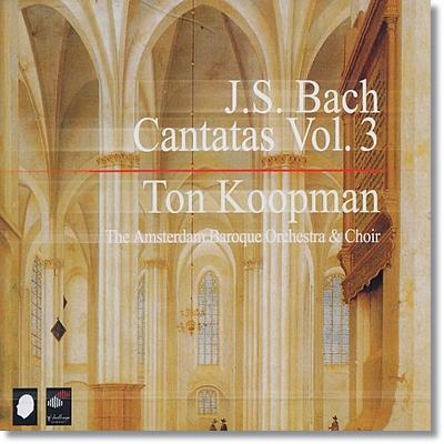 Ton Coopman 바흐: 칸타타 전곡 3집 (Bach: Complete Cantatas Volume 3)