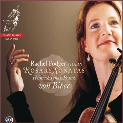 Rachel Podger 비버: 로자리오 (미스터리) 소나타 전곡집 (Biber: Rosary / Mystery Sonatas)
