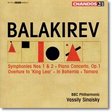 발라키레프 : 교향곡 1 & 2번