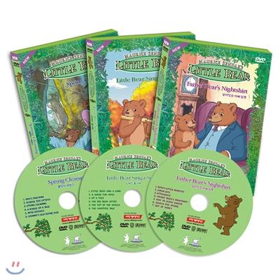 DVD 리틀베어 1집 3종세트 LITTLE BEAR