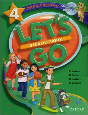 [3판]Let's Go 4 : Student Book with CD-Rom