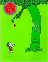 [베오영] The Giving Tree 40th Anniversary Edition Book (Hardcover & CD Set)