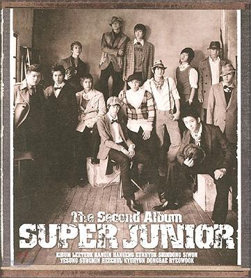 슈퍼 주니어 (Super Junior) 2집 - Don't Don 리패키지 (CD버전)