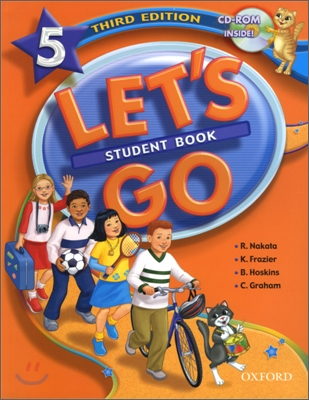 [3판]Let's Go 5 : Student Book with CD-Rom