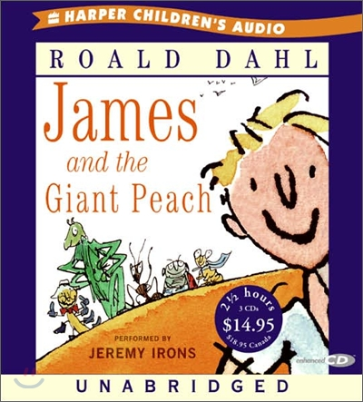 James and the Giant Peach : Audio CD
