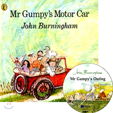 [노부영]Mr Gumpy's Motor Car (Paperback & CD Set)
