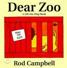 [��ο�]Dear Zoo (Board Book & CD Set)