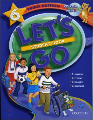 [3판]Let's Go 6 : Student Book with CD-Rom