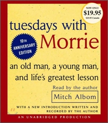 Tuesdays With Morrie : Audio CD