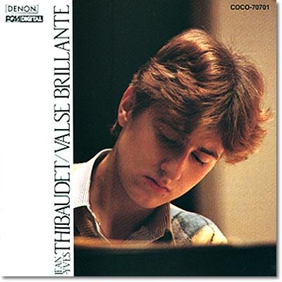 Jean-Yves Thibaudet 장 이브 티보데 데뷔 앨범 - 쇼팽: 왈츠 / 리스트: 사랑의 꿈 (Valse Brillante)