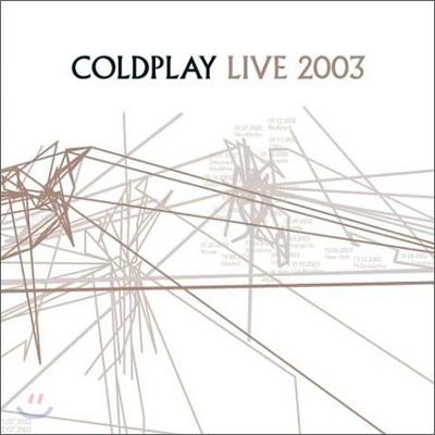 Coldplay - Coldplay Live 2003 콜드플레이 라이브 앨범 [CD+DVD]
